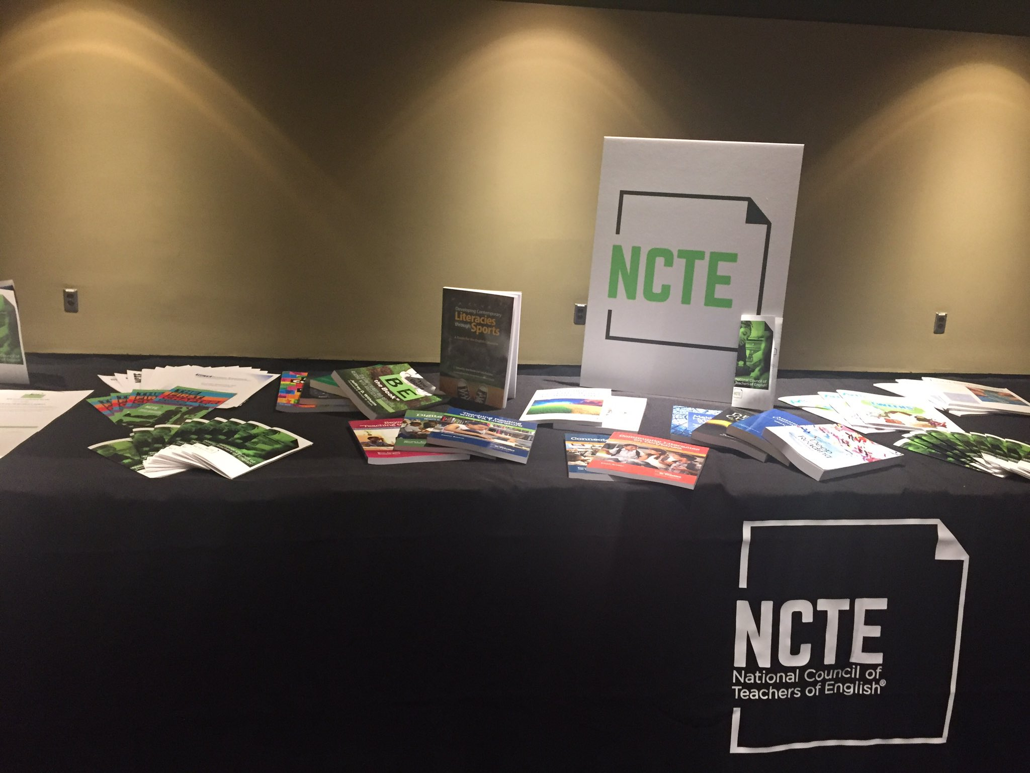 Ready to kick off #NCTEaffiliate meeting! https://t.co/2N2AvzEBhV