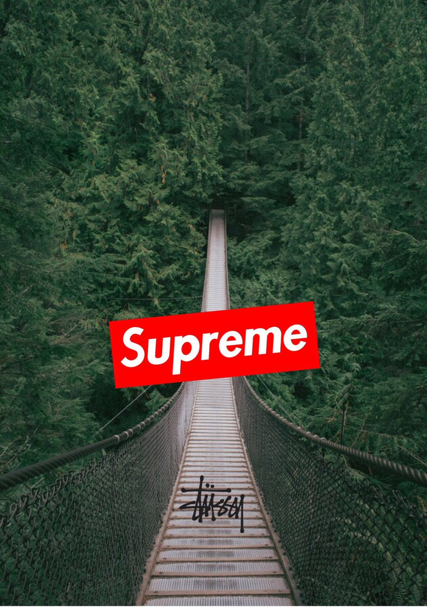 "Iphone Wallpaper On Twitter: ""Supreme X Stussy Wallpaper"