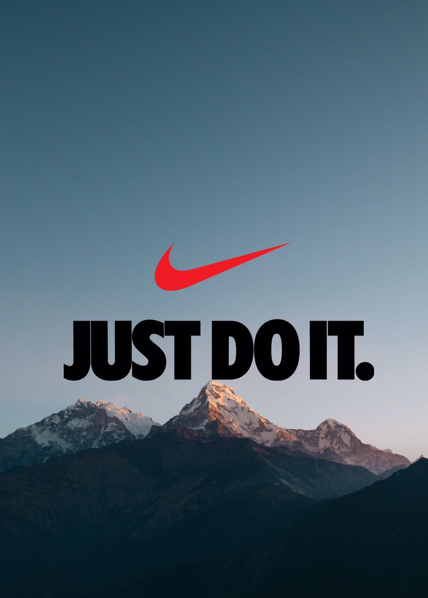 Iphone Wallpaper On Twitter Nike Just Do It Swoosh IPhoneWallpaper