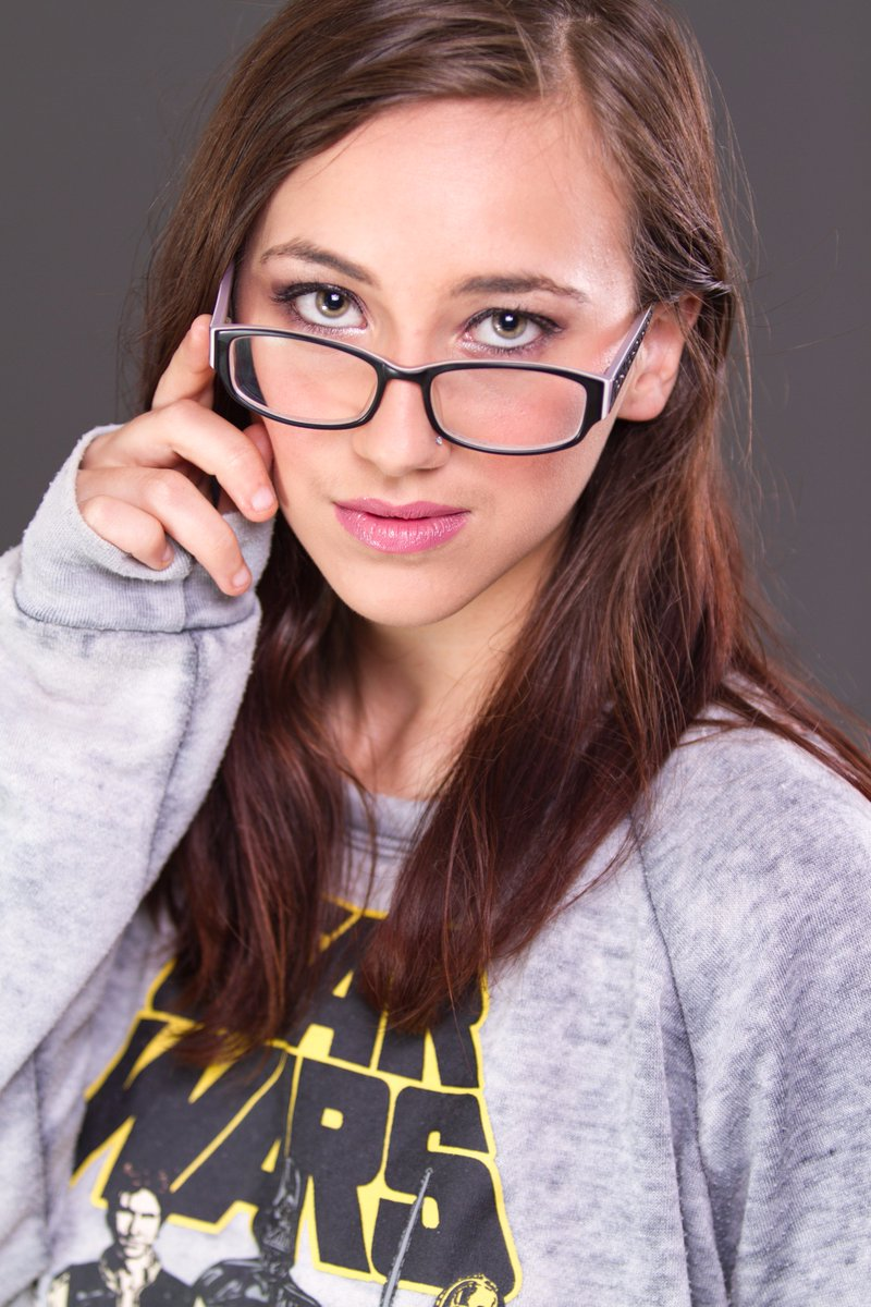 Beautiful nerdy girl 13