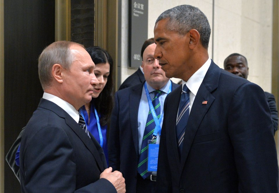 get you a president who looks at the man who hacked your democracy like this