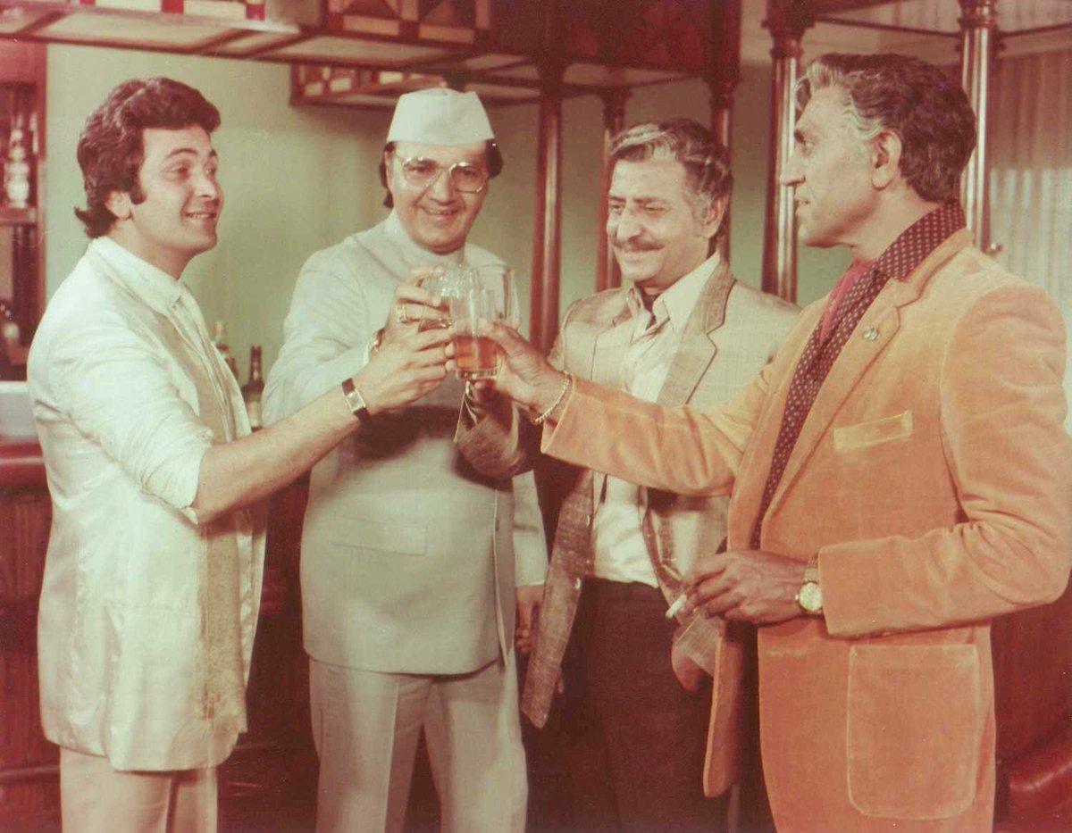 "Rishi Kapoor on Twitter: ""Film""Duniya"" Privilege to share screen ..."