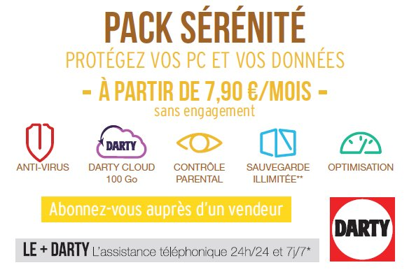 pack serenite darty