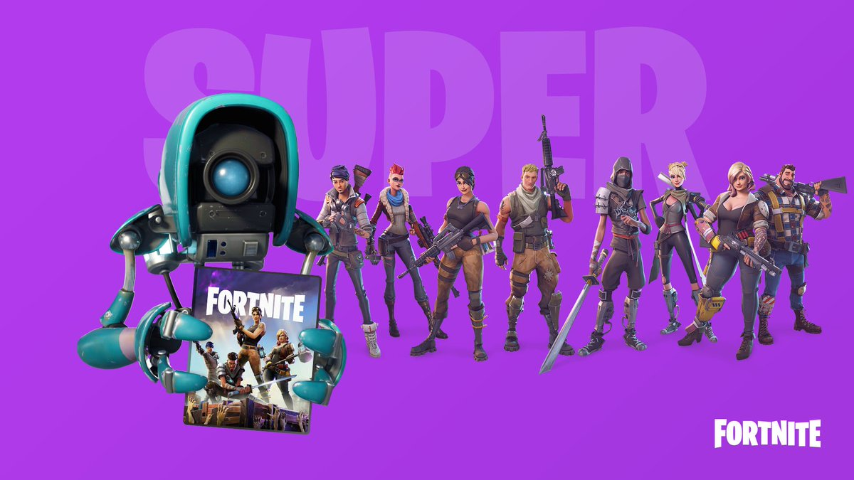 Fortnite On Twitter Pick Up The Super Deluxe Pack Today It