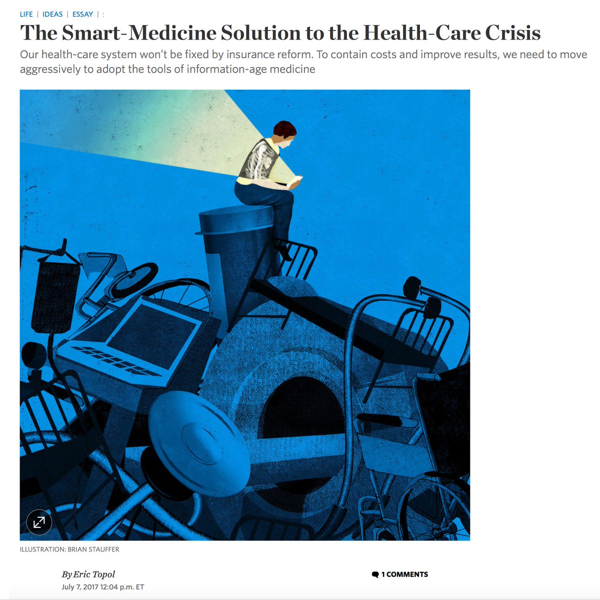 eric topol on twitter the smart medicine solution to the