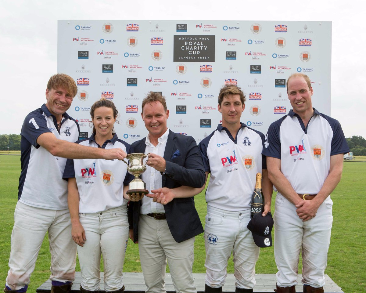Truly honoured - HRH Duke of Cambridge plays in Royal Charity Match, ahead of this weekend's festival https://t.co/u3hqfwLtXB @EDP24 #polo