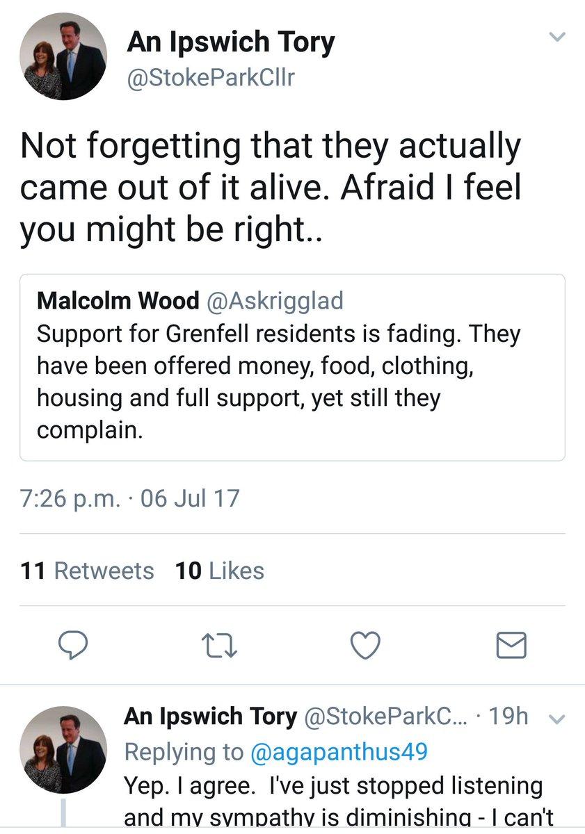 Image result for Ipswich Tory leader resigns tweet Nadia Cenci