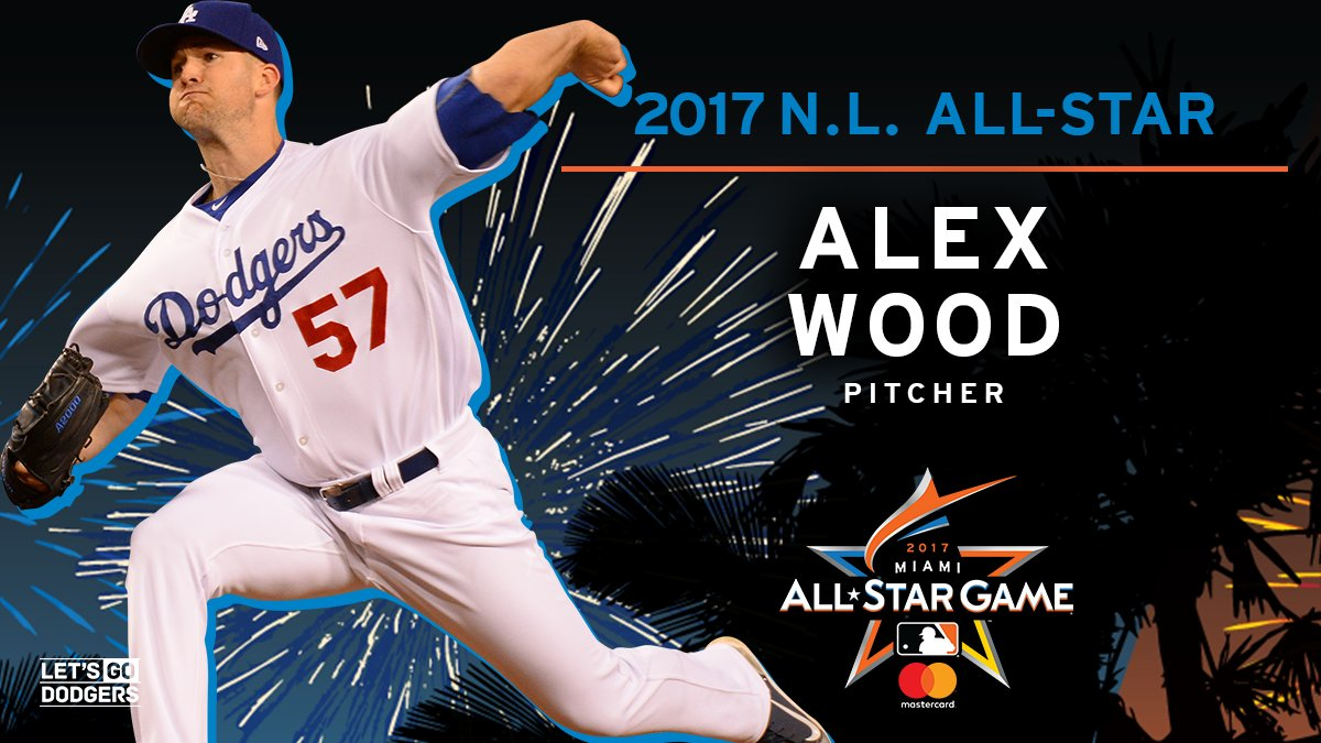 "los angeles dodgers on twitter ""hey @awood45, youu0027re an all starlos angeles dodgers on twitter ""hey @awood45, youu0027re an all star! alex wood has been added to the national league all star team! letsgododgersu2026 """