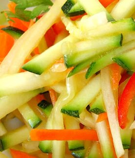 Carrot and Zucchini Salad