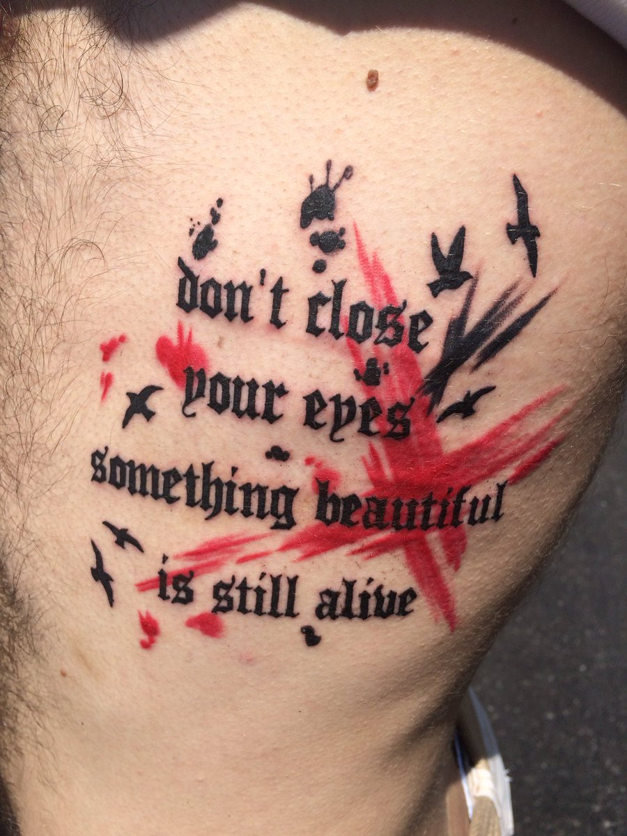 Dylan Hawley On Twitter Lyrics From Cry Of Achilles By