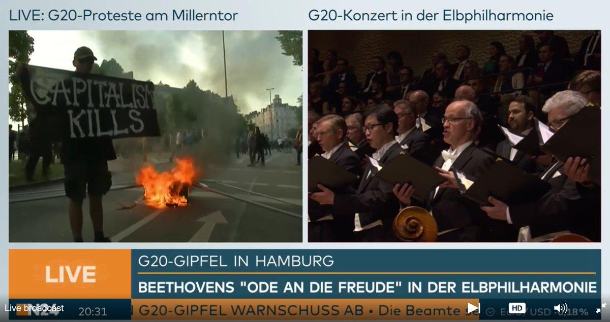 Felix Füllmann On Twitter Skurrile Gegenüberstellung Im At N24