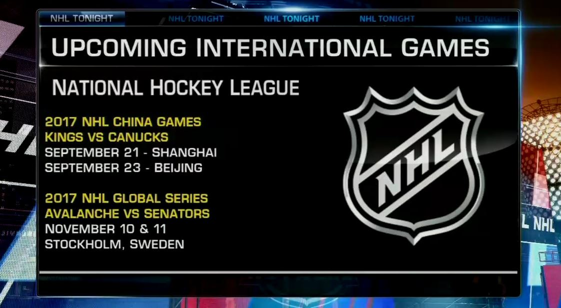 Nhl Network On Twitter The International Games Will Be Here Before