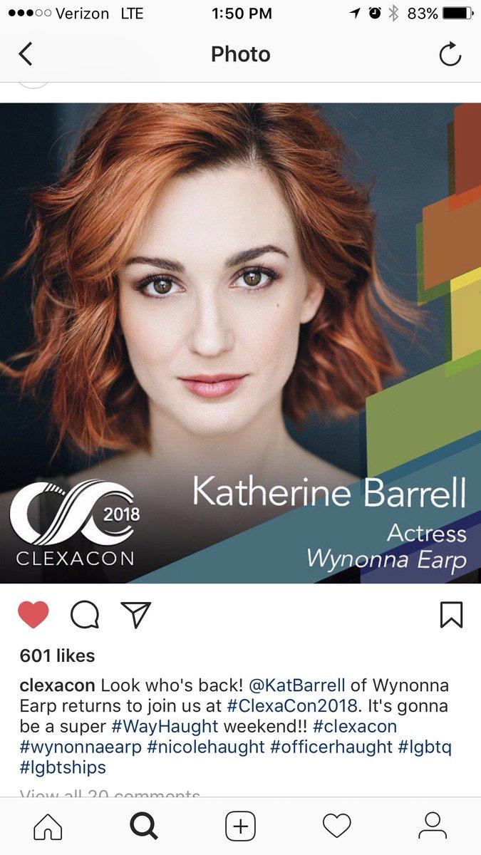 MUST GO!! @ClexaCon is going to be #Haught @KatBarrell @DominiqueP_C @HaughtHat https://t.co/no3zuH11tt