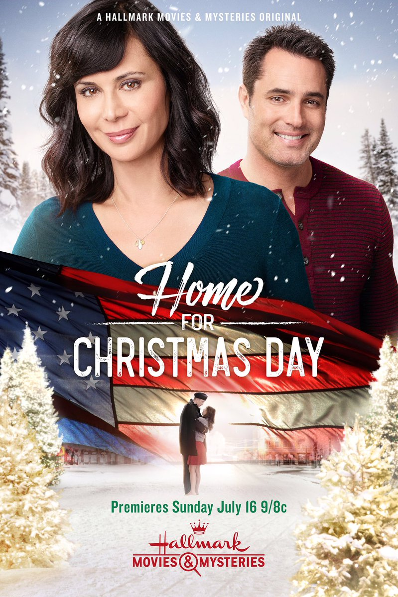 Home for Christmas Day on @hallmarkmovie Sunday July 16th 9pm !!! https://t.co/Xi24qLNSZG
