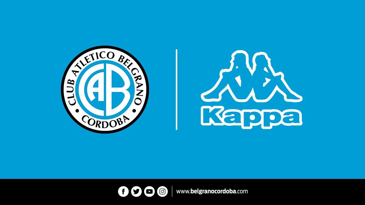 Kappa vestirá a Belgrano durante los próximos tres años