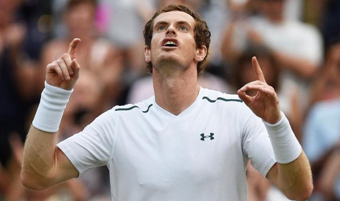 Tennis: Andy Murray ha battuto Fabio Fognini e approda agli ottavi di Wimbledon