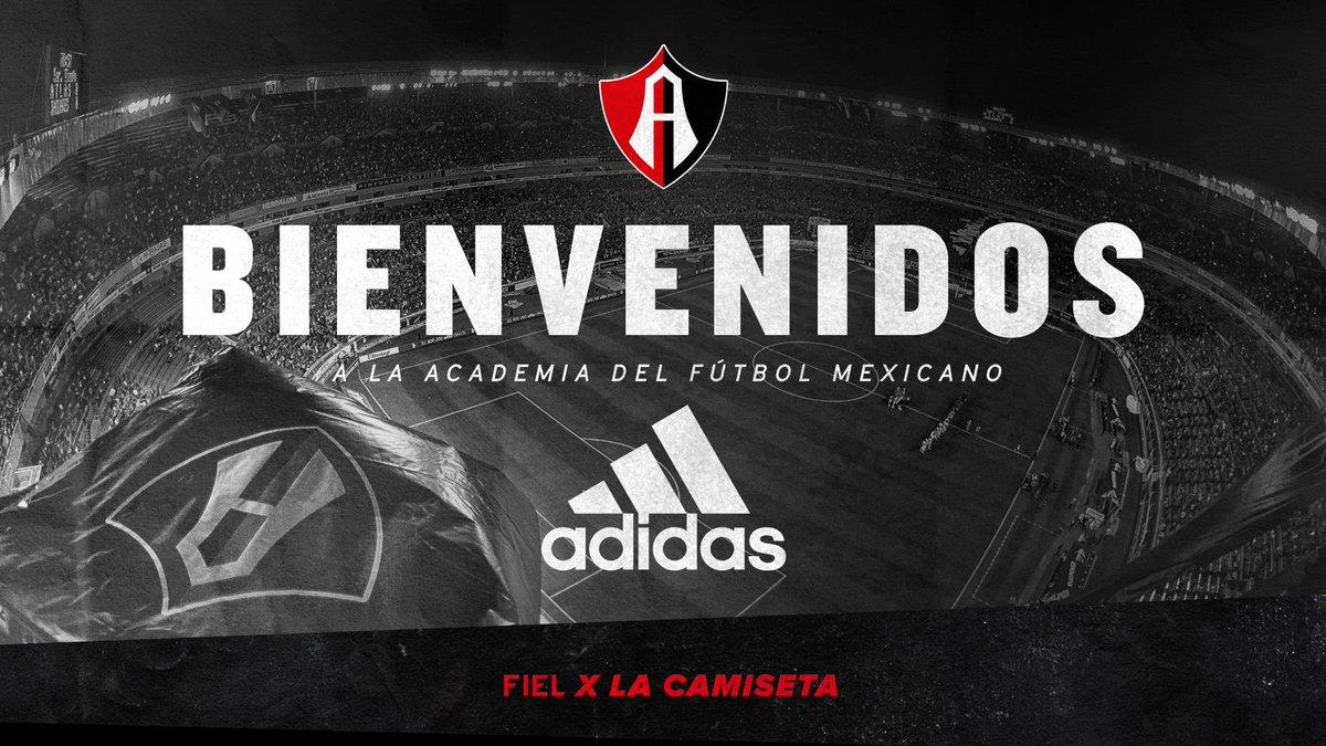 adidas vestirá al Atlas de México la próxima temporada