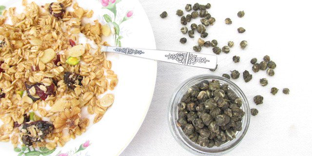 Jasmine Green Tea Granola