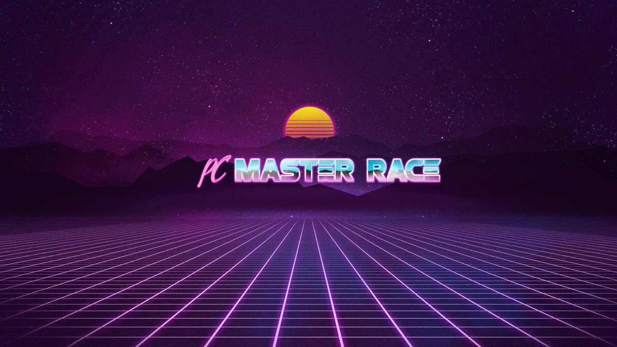 Pc Master Race On Twitter Here Is The Glorious Wallpaper So Many