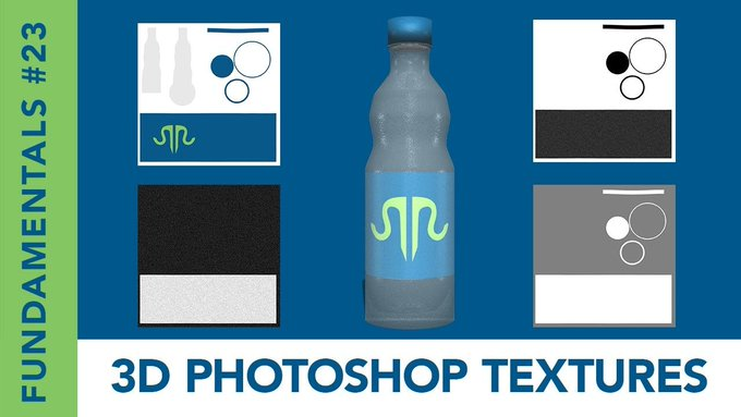 Fundamentals #23: 3D Photoshop Textures