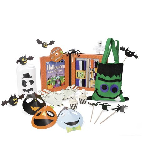About Trick-or-Treat Halloween Craft Kit on Kids Craft Easy recommended through Kids Craft Easy