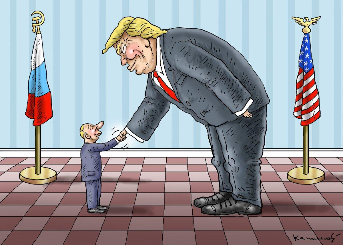 A LITTLE HAND MEETS THE SMART HAND  http://www. spiegel.de/politik/auslan d/g20-in-hamburg-donald-trump-und-wladimir-putin-tauschen-hoeflichkeiten-aus-a-1156591.html  …    http://www. facebook.com/humorkamensky      #Trump #Faschismus #Putin #G20Hamburg<br>http://pic.twitter.com/xJ8GrmC9JI