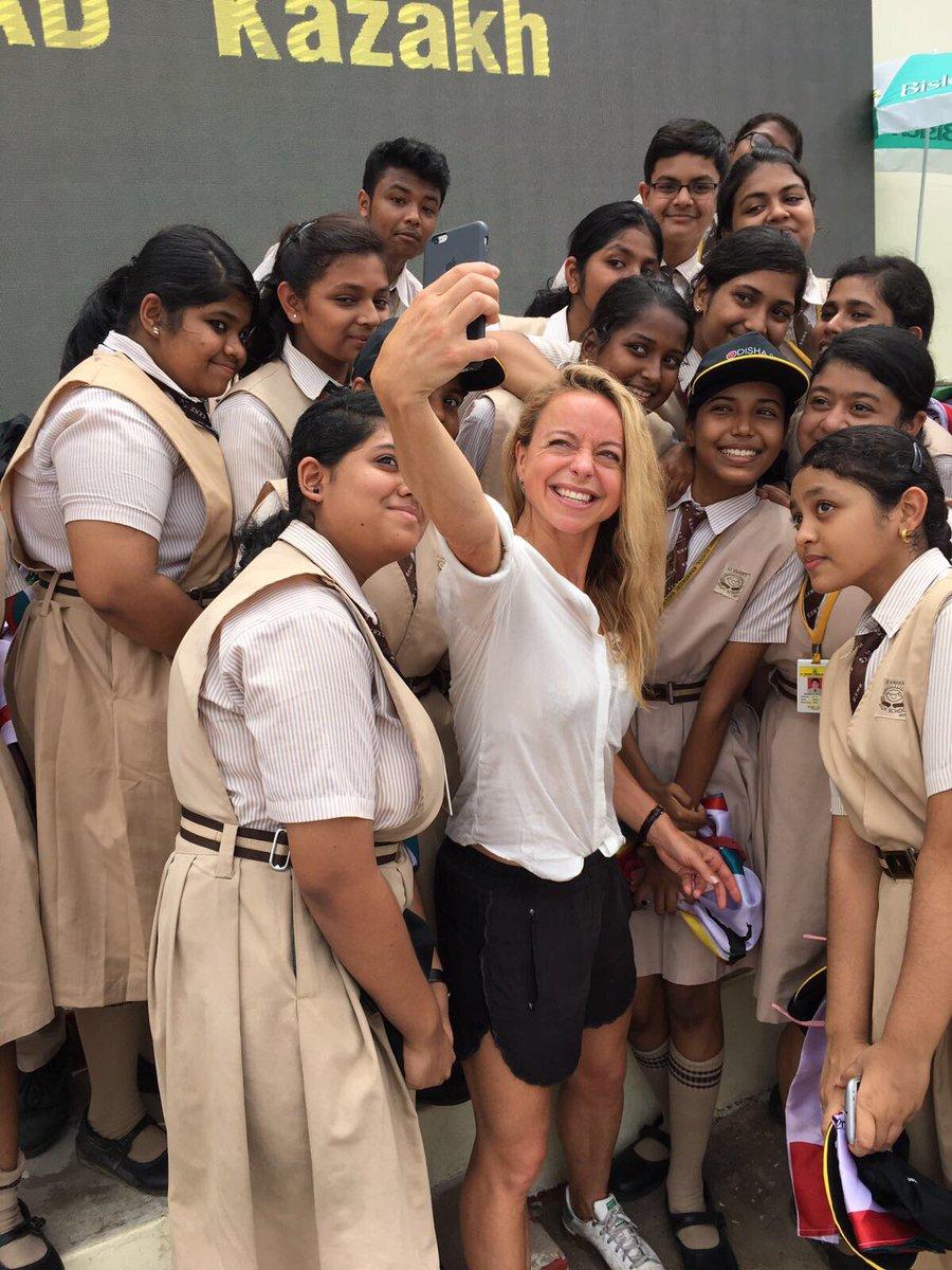 Capturing memories @Bhubaneswar2017 with St Xavier's school