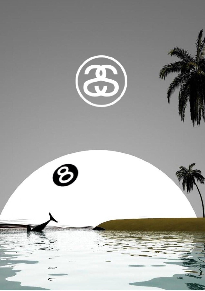 Iphone Wallpaper On Twitter Stussy 8 Ball Iphonewallpaper