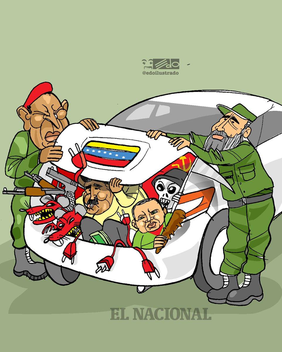 Caricatura EDO para @ElNacionalWeb: Contrabando