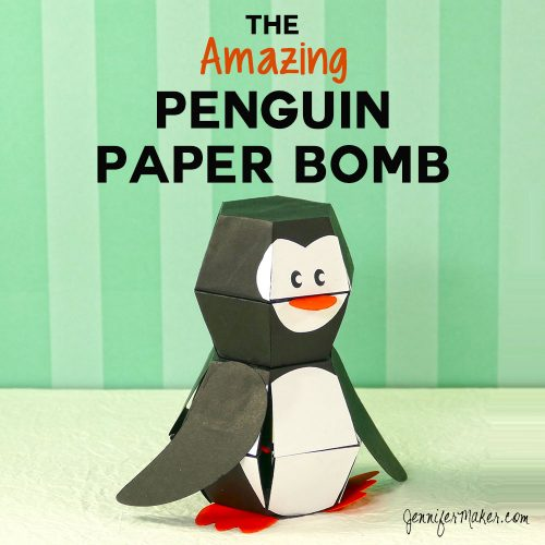 Penguin Paper Bomb
