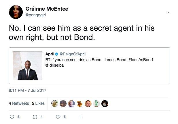 Thumbnail for The name's Bond...