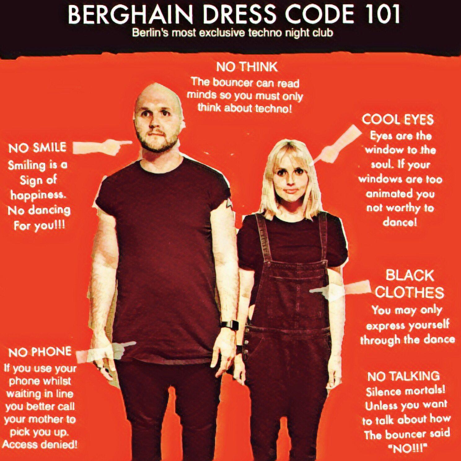 Berghain outfit Berghain: 11