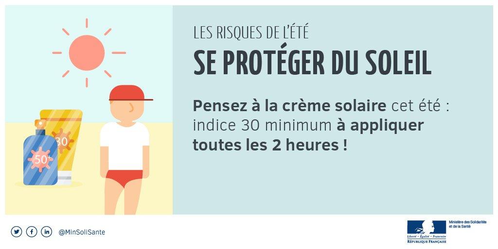 [#étésanssouci ☀] Conseil n°1 : Appliquez-lui de la crème solaire  toutes les 2 h et après chaque baignade  ➡️ https://t.co/E9aRNpULiZ