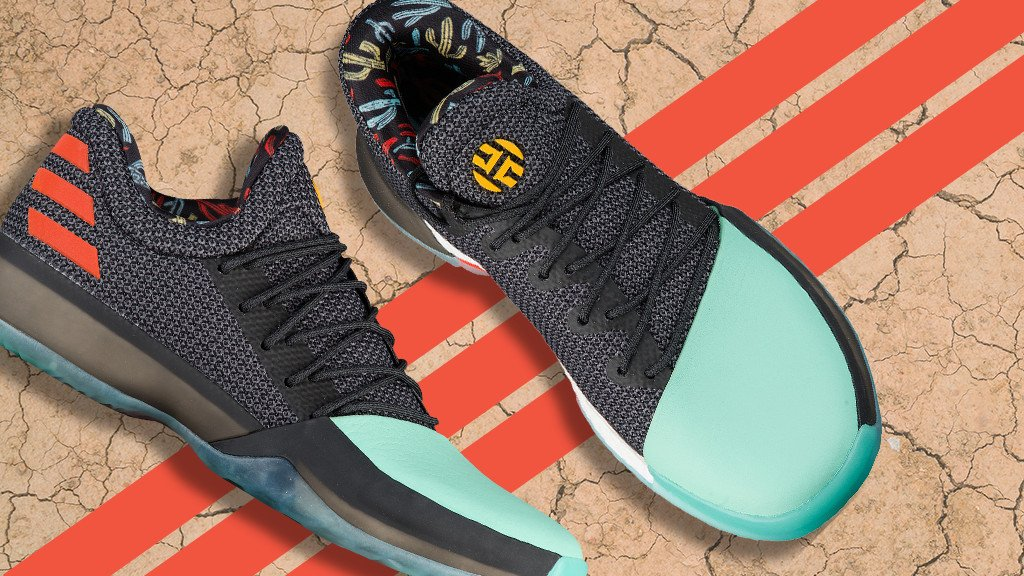 36619120ab46 james hardens newest shoe brings the heat the harden vol 1 cactus is  available now gt