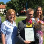 "We are so happy after being selected as ""Most Innovative of #Almedalen 2017"", the biggest democratic forum of Sweden https://t.co/tEDBp1vlxe"