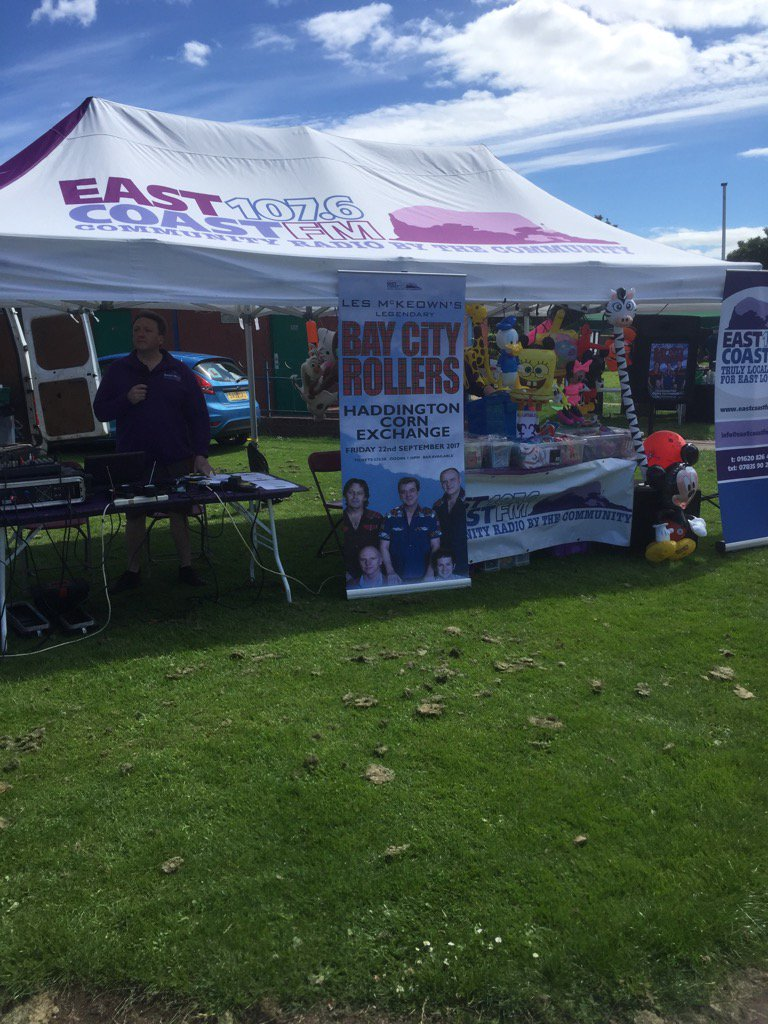 test Twitter Media - East Coast FM in full flow with Calum Stewart in East Linton for McMillan Cancer Support @LothianLoop @SGibbAreaMan https://t.co/zXkAPClxkx