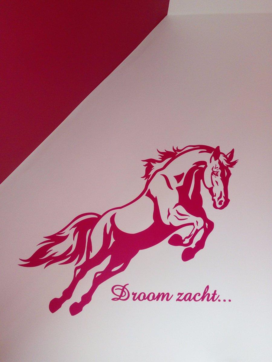 Muursticker Paard Met Naam.Jl Design Online Stickers Twitter
