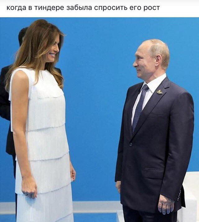 "A Russian FB user captions this: ""When you forgot to ask his height on Tinder"" https://t.co/FMkdw282j4"