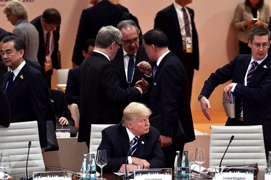 When the heads of the most powerful countries in the world see zero value in talking to the POTUS
