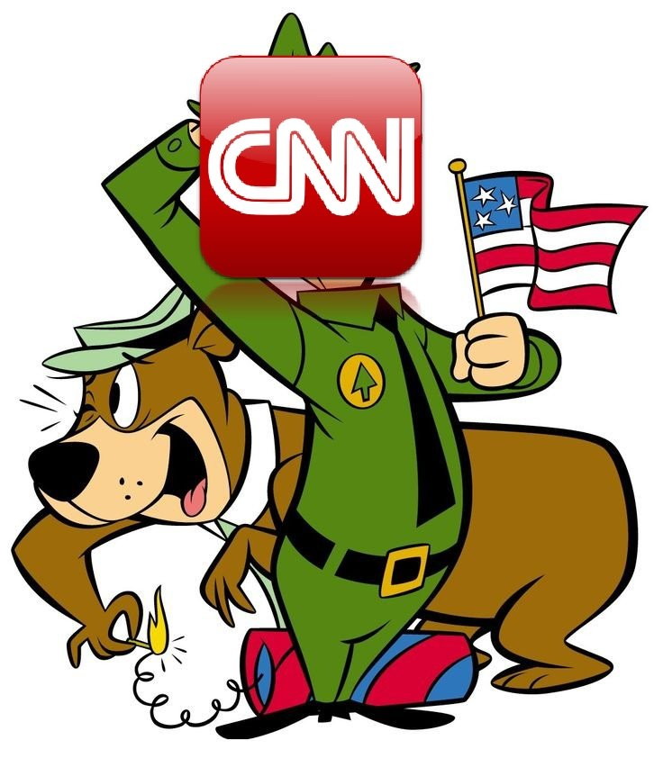 CNN fraud news ratings lower than Yogi Bear reruns