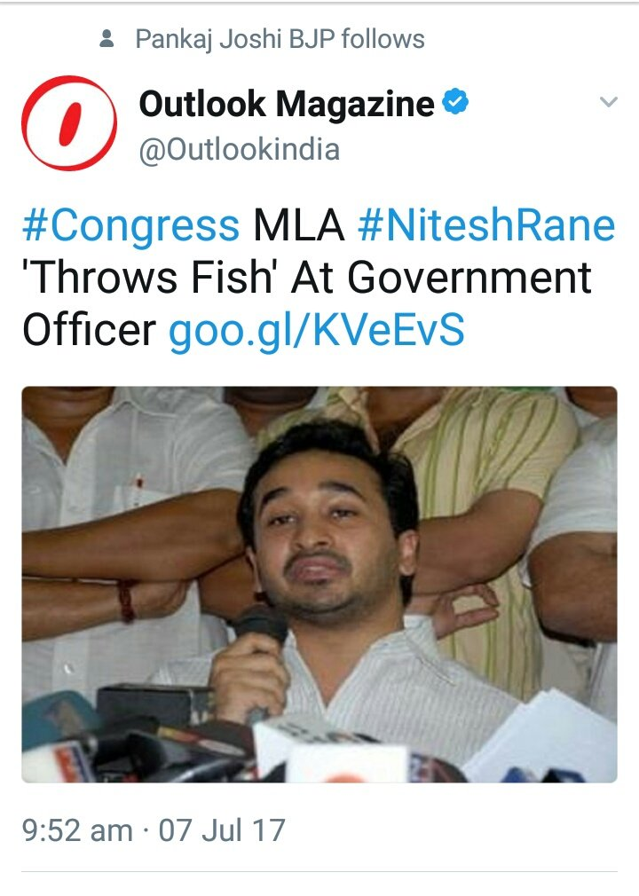 #NiteshRane a habitual and serial offender..Dangerous for society..confine this congressi gunda @NiteshNRane behind bars  @CMOMaharashtra<br>http://pic.twitter.com/QiOxFzbpfd