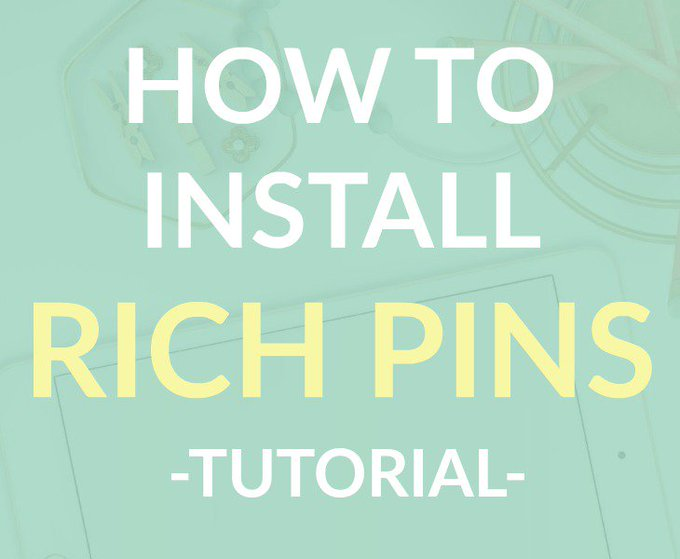 How to Install Rich Pins