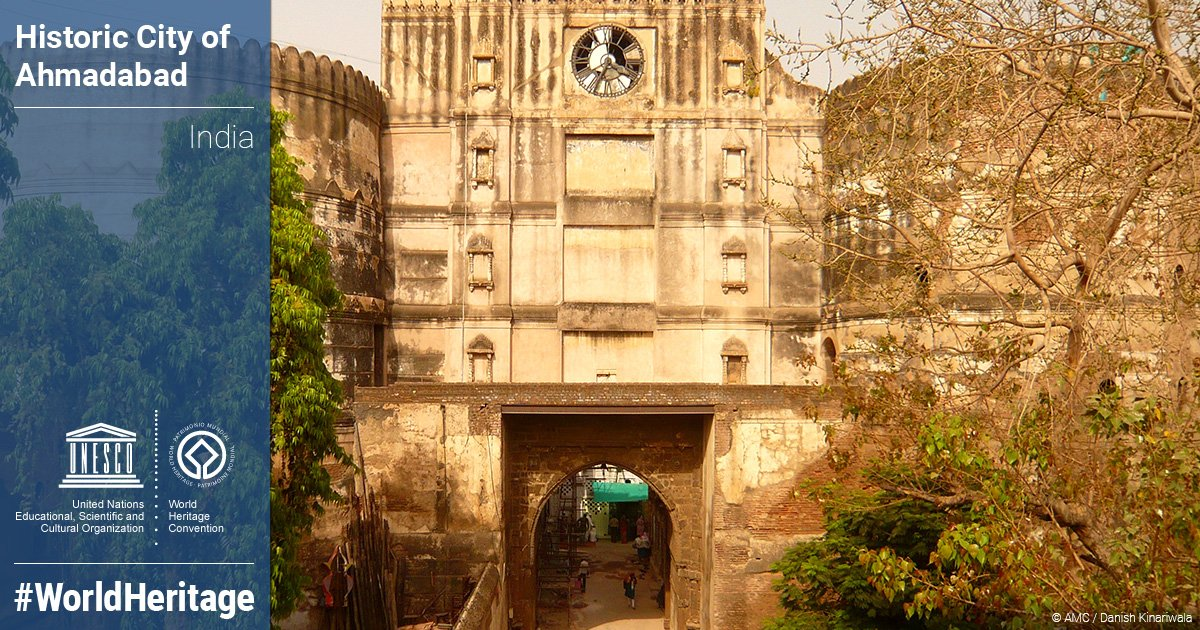 Just inscribed as @UNESCO #WorldHeritage Site: Historic City of Ahmadabad #India https://t.co/ztbb8RIMiZ  #41whc