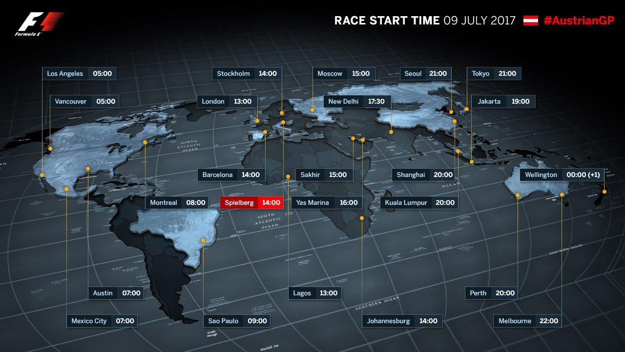 F1 Austrian Gp 2017 Final Race Live Stream Sunday July 09