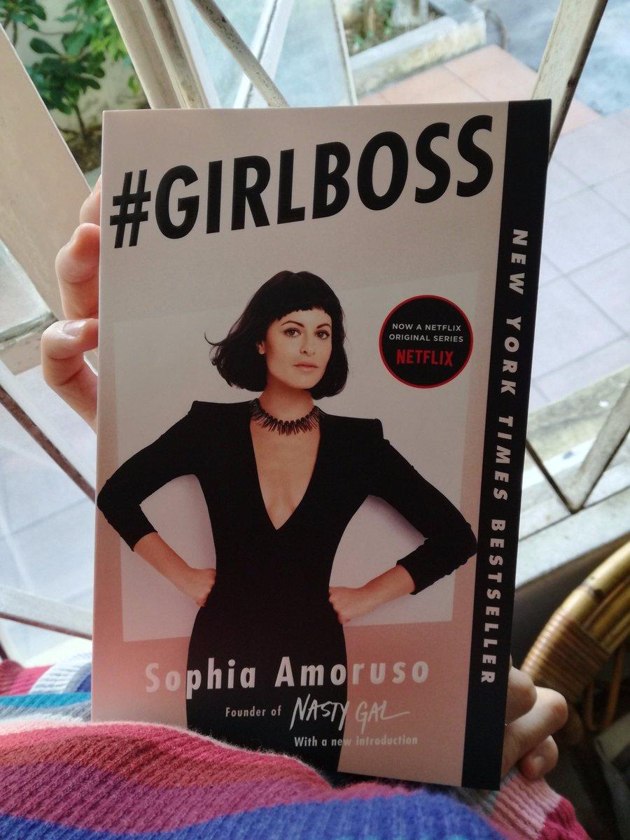 Finally got it #SophiaAmoruso #GirlBoss  #girlpower  #motivation #inspiration #empowermentpic.twitter.com/HZ19uDU2le