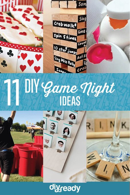 Game Night Ideas DIY Projects Craft Ideas & How To's for Home Decor with Videos