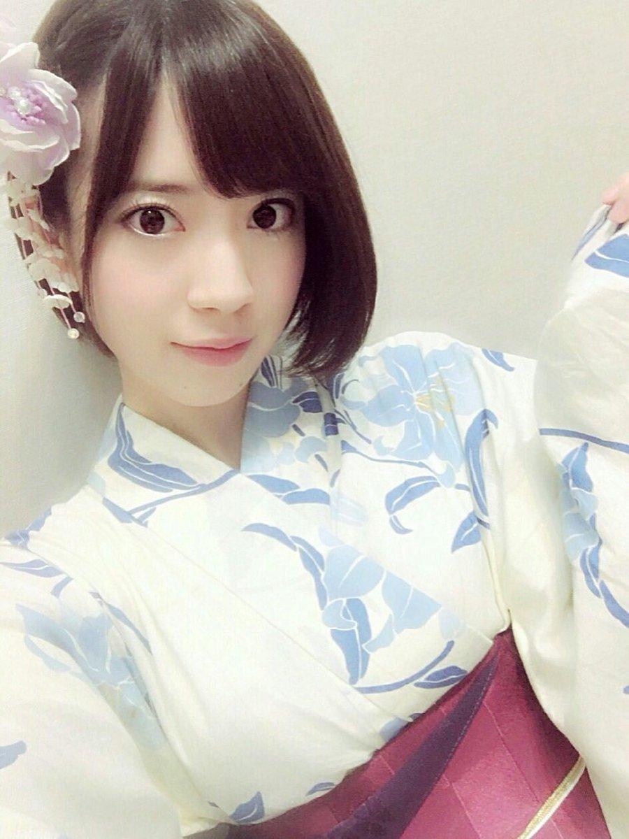 浴衣がかわいい西川七海
