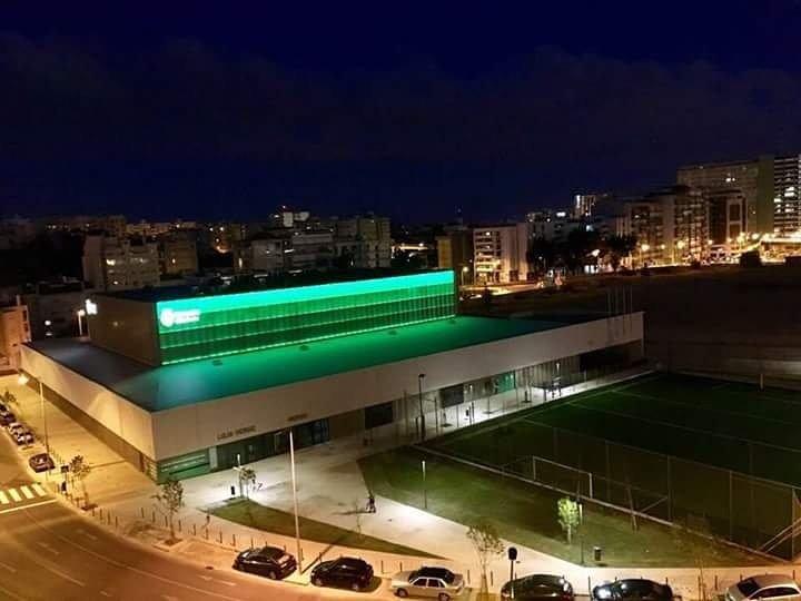 Lisboa iluminada pelo Pavilhão João Rocha 😍