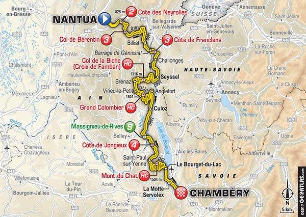 Rojadirecta TOUR DE FRANCE 2017 Nantua-Chambery Tappa 9 Diretta Streaming Gratis su Rai YouTube Facebook | CICLISMO