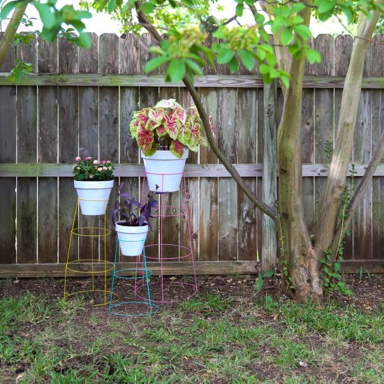 Tomato Cage Plant Stands